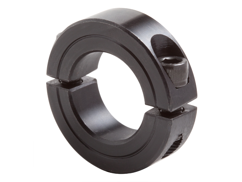Two piece clamping collar c series on climax metal