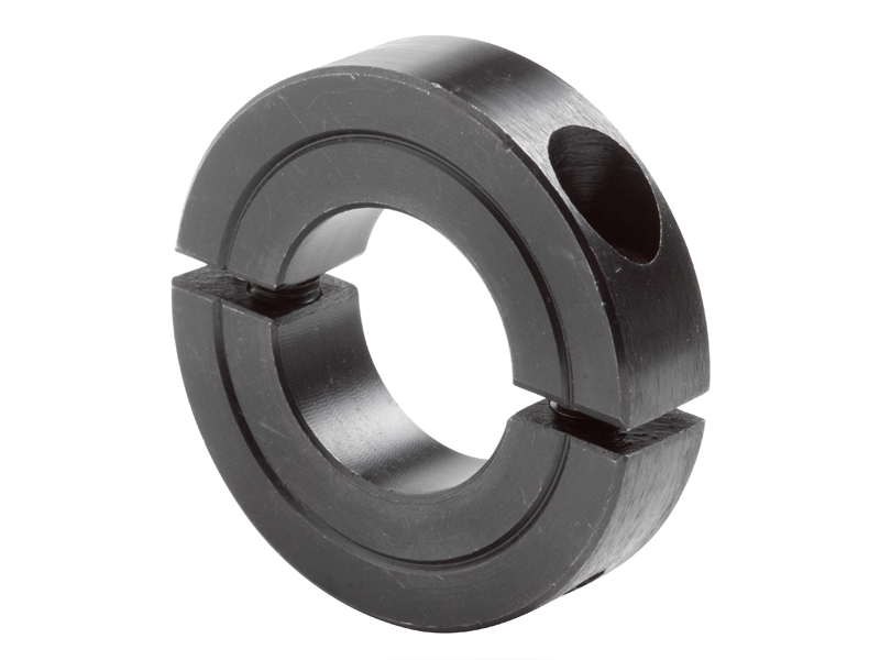 Two piece clamping collar recessed screw h c series on