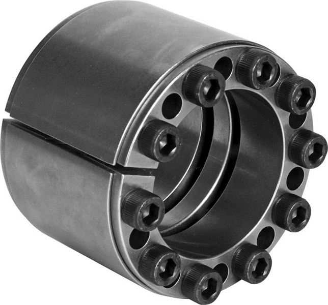 3.5430 in Length 3.4375 in Bore Keyless Locking Rigid Coupling 5.1181 in OD Climax Metal Products C405E-343 Steel
