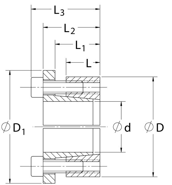 Series C193 Metric Locking Assembly On Climax Metal Products Company