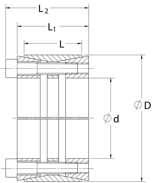 Climax Metal Metric M14 X 80 C415M-200X260 200mm Locking Assembly C415 Series