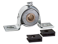 Bronze Bearing, Pressed Steel Housing, Self-Aligning, Standard Type PBPS-BR - Series