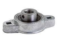 Ball Bearing, Die-Cast Housing, Rigid Type (2 Bolt) F2DC-BL - Series
