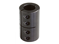 Metric One-Piece Industry Standard Clamping Couplings MISCC-Series Black Oxide