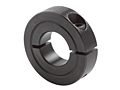 One-Piece Clamping Collar Recessed Screw H1C-Series Black Oxide