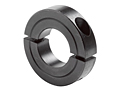 Two-Piece Clamping Collar Recessed Screw H2C-Series Black Oxide