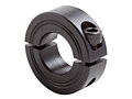 Metric Two-Piece Clamping Collar M2C-Series Black Oxide
